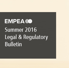 Legal & Regulatory Bulletin – Issue No. 18, Summer 2016