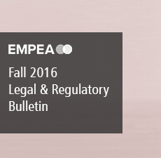Legal & Regulatory Bulletin – Issue No. 19, Fall 2016