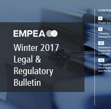 Legal & Regulatory Bulletin – Issue No. 20, Winter 2017