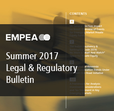 Legal & Regulatory Bulletin – Issue No. 22, Summer 2017