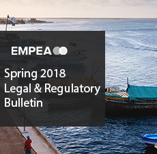 Legal & Regulatory Bulletin – Issue No. 25, Spring 2018