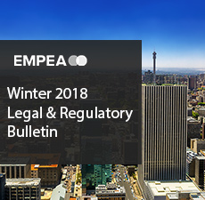 Legal & Regulatory Bulletin – Issue No. 24, Winter 2018