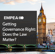 Getting Governance Right: Does the Law Matter?