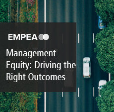 Management Equity: Driving the Right Outcomes
