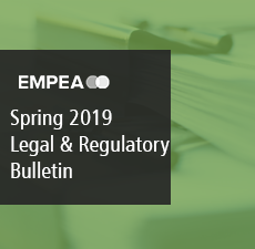 Legal & Regulatory Bulletin – Issue No. 27, Spring 2019