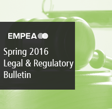 Legal & Regulatory Bulletin – Issue No. 17, Spring 2016