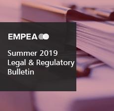 Legal & Regulatory Bulletin – Issue No. 28, Summer 2019