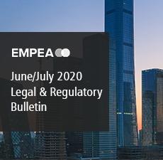Legal & Regulatory Bulletin – Issue No. 29, June/July 2020